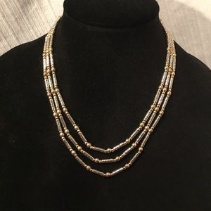 Brighton two toned necklace
